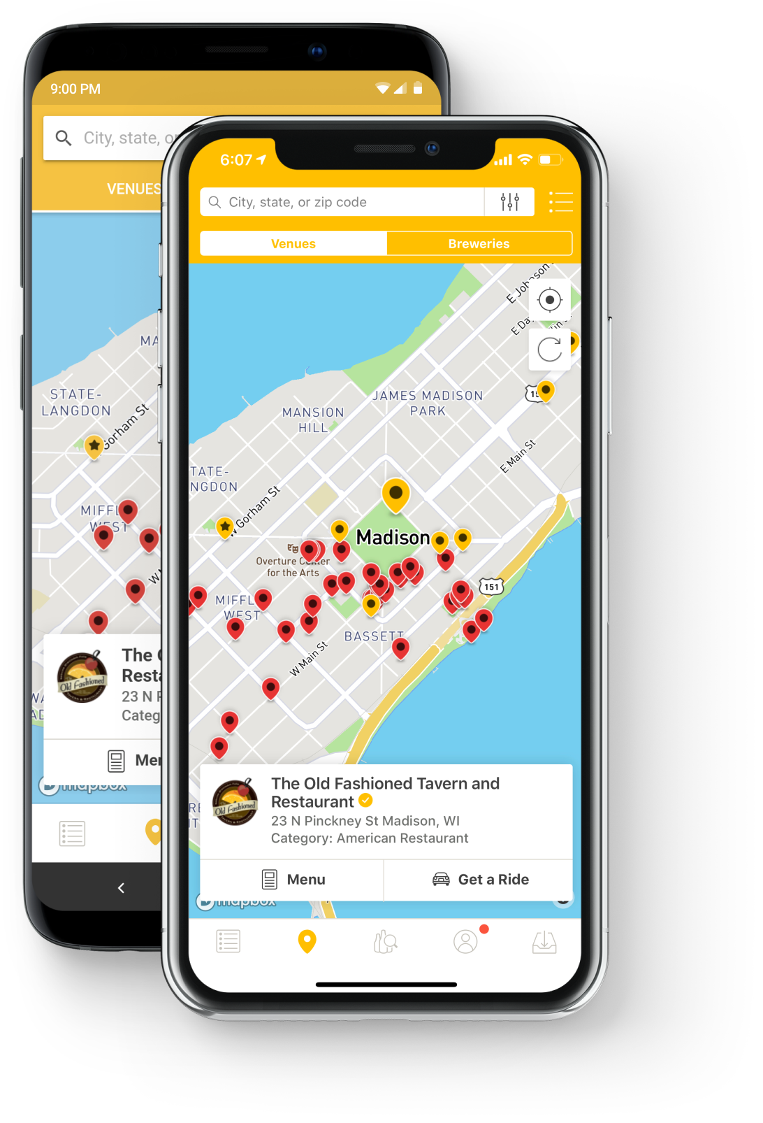 untappd phone app preview