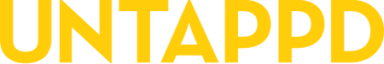 untappd text logo